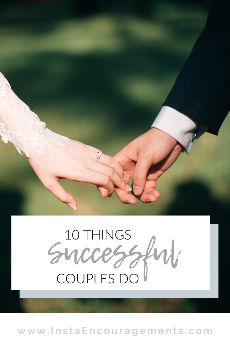 10 Things Successful Couples Do