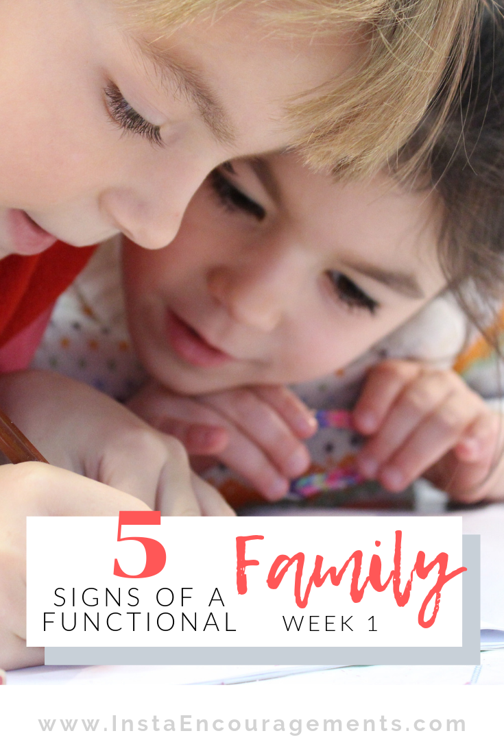 5 Signs of a Functional Family