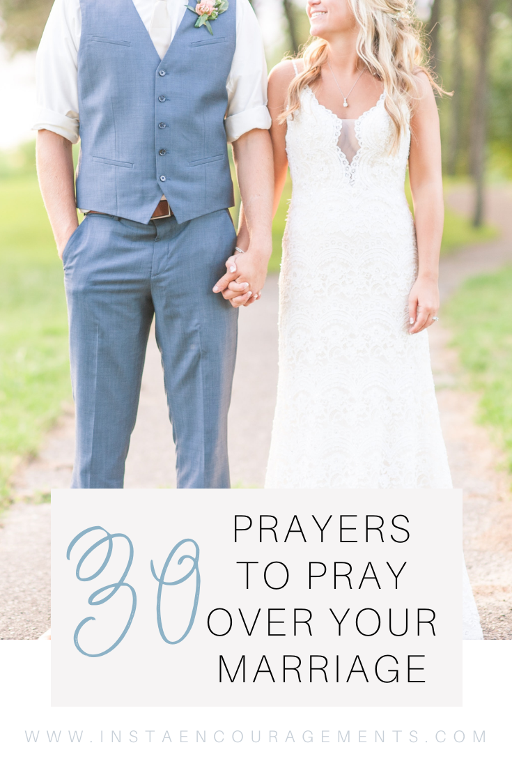 30 Prayers to Pray Over Your Marriage