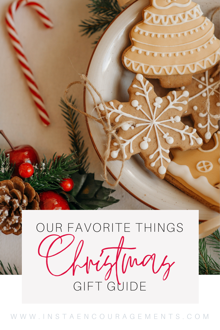 Our Favorite Things Christmas Gift Guide : I know that some of you are already shopping for Christmas. Maybe, you even have all of your shopping done. But if you are one of those, like me, who wait till the last minute, have I got a deal for you!