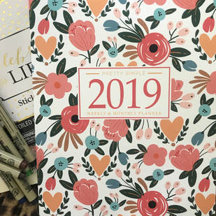 Pretty Simple Planners 2019 planning goals creative