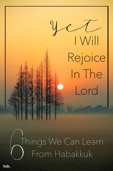 Yet I Will Rejoice In The Lord