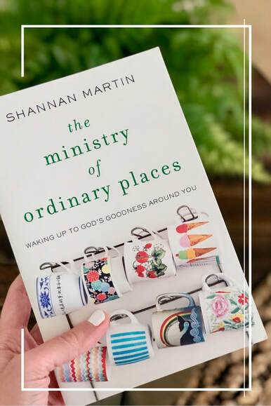 I feel sure that I have highlighted more parts of this book than I've left unhighlighted. It's just that good! Reading The Ministry of Ordinary Places has changed me in a way I didn't know I needed to be changed. It has reminded me of the value of paying attention and loving my neighbor.