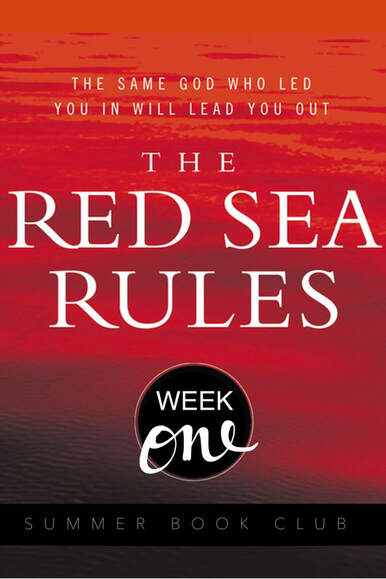 The Red Sea Rules: The same God who led you in will lead you out. Rule 1: Realize that God means for you to be where you are.