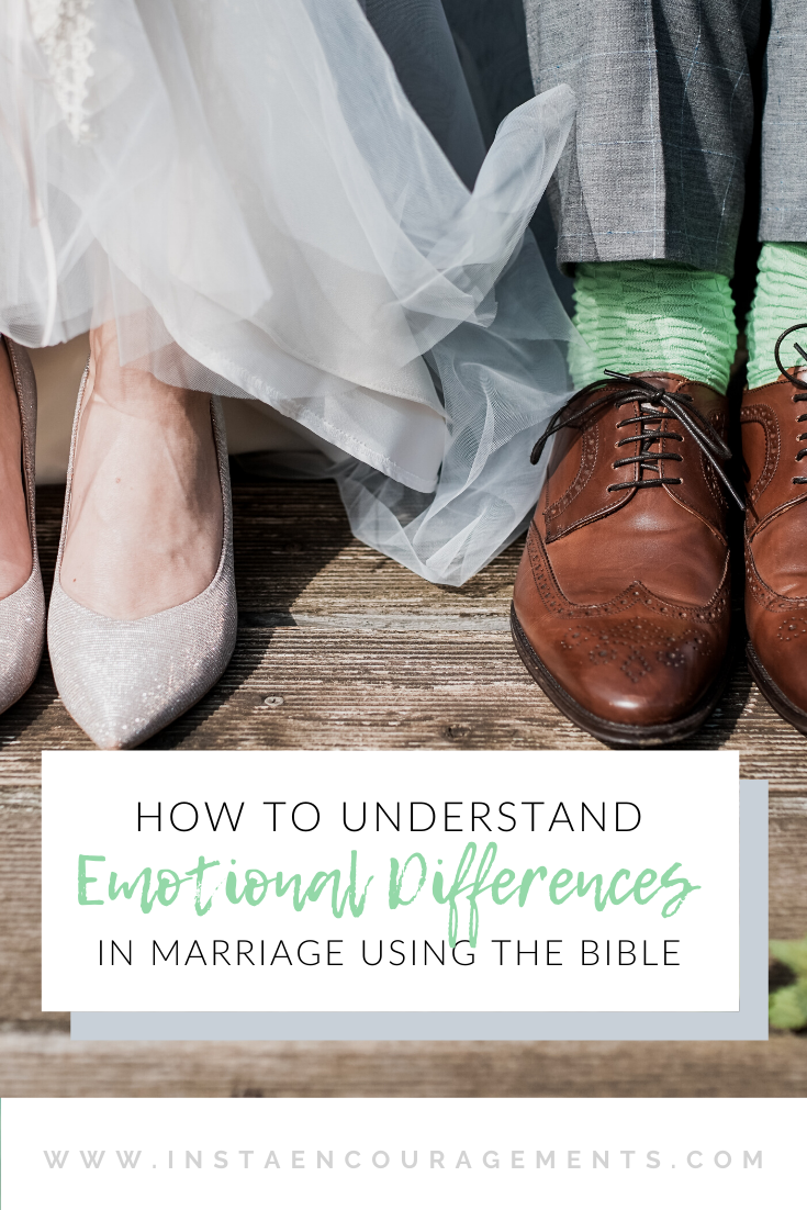 How to Understand Emotional Differences in Marriage Using the Bible