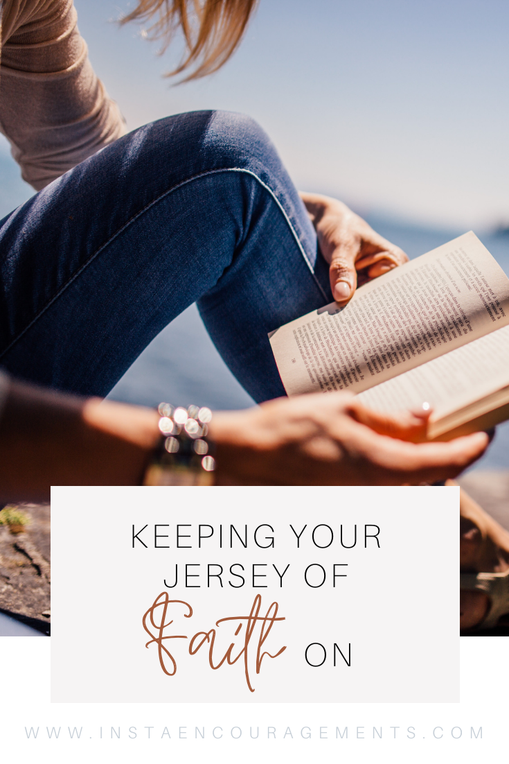Keeping Your Jersey of Faith On
