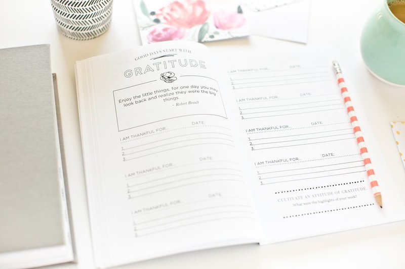 Pretty Simple Planners Gratitude Journal