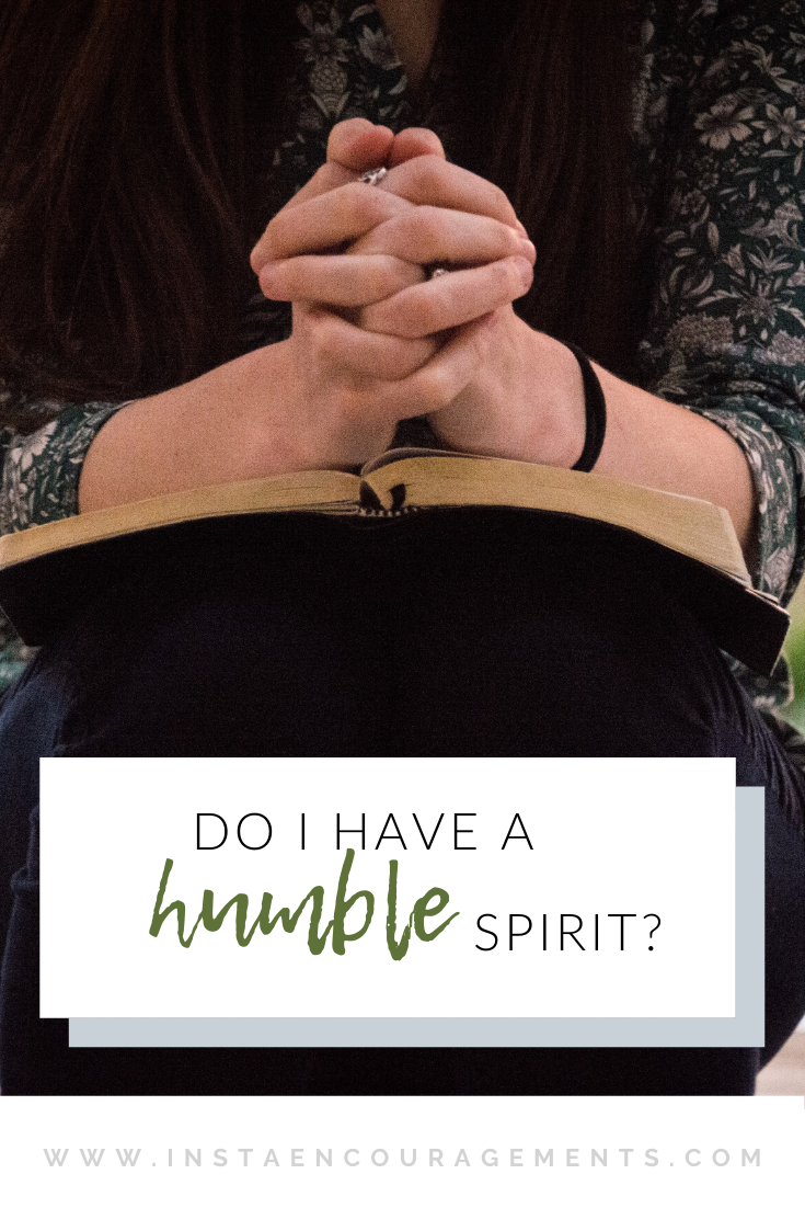 Do I Have a Humble Spirit?