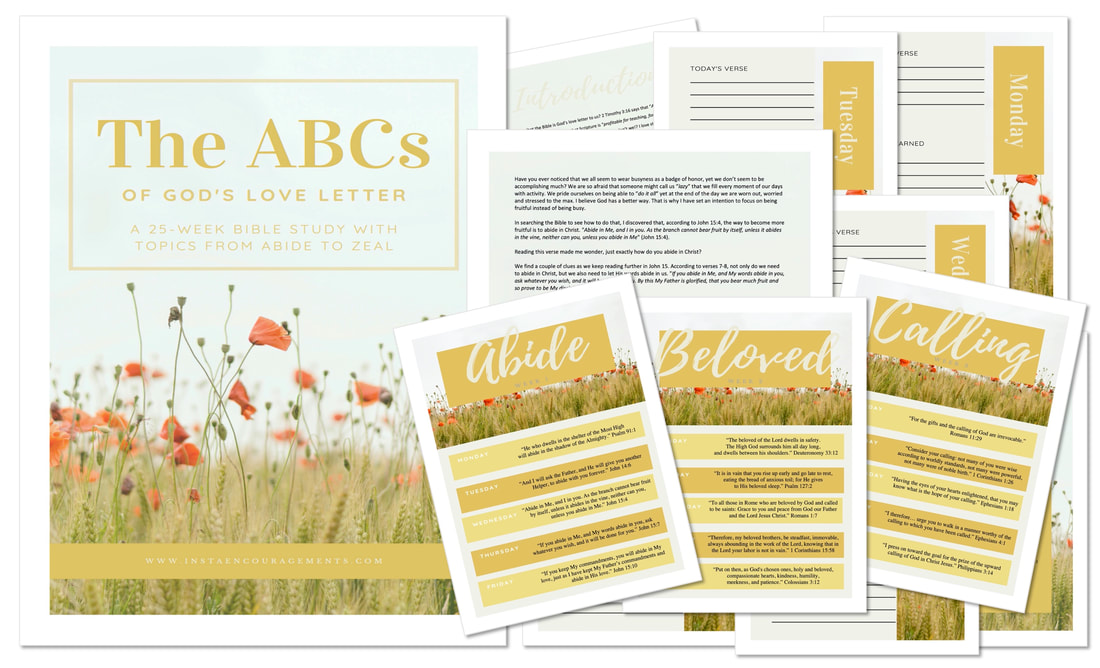 The ABCs of God's Love Letter Bible study