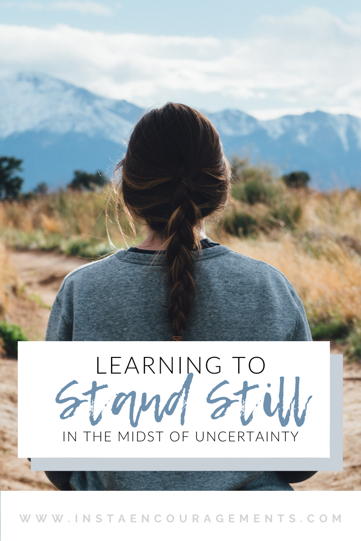 Learning to Stand Still