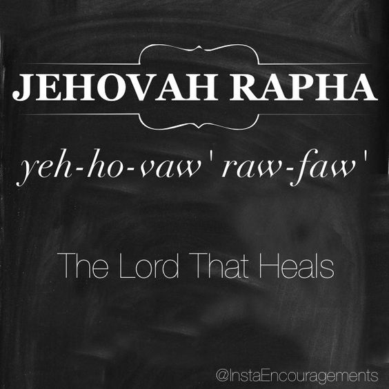 The Lord That Heals