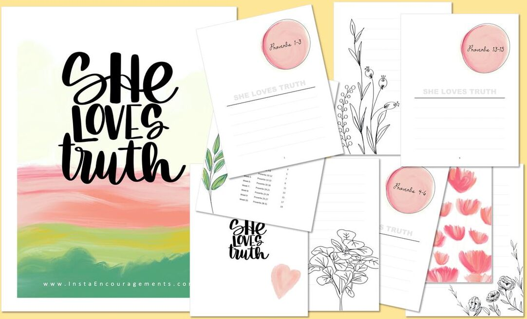 She Loves Truth layout