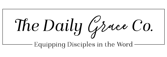 The Daily Grace Co. logo banner