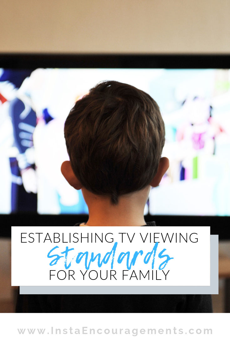 Establishing TV Viewing Standards For Your Family